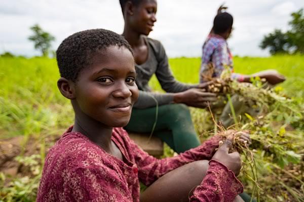 Menschen und Landwirtschaft
