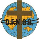 Logo DFMBG: Weltkugel mit Kreuz