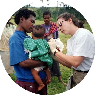 Ärztin in Afrika